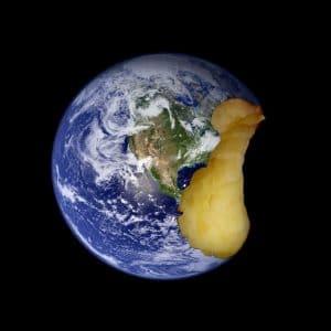 """""""Apple Earth"""" copyright JD Hancock via Flickr"""