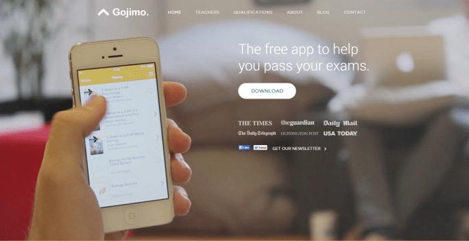 Gojimo Homepage