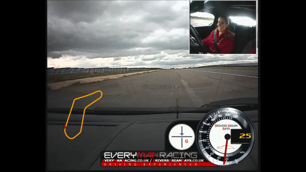 NSHS: Ashley behind the wheel