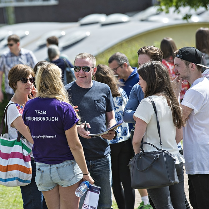 Loughborough University Open Day 2015