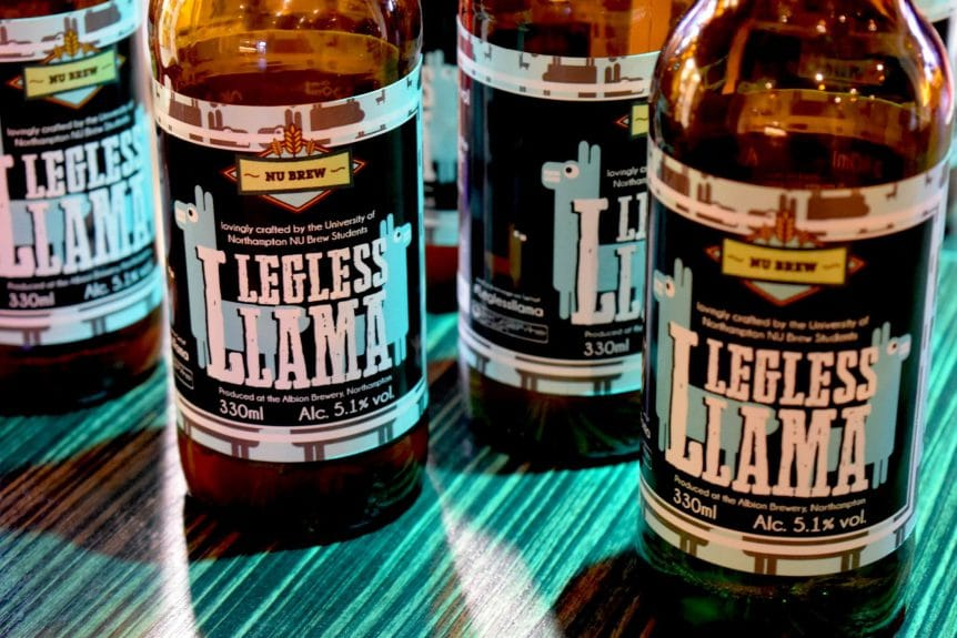NUBrew Legless Llama