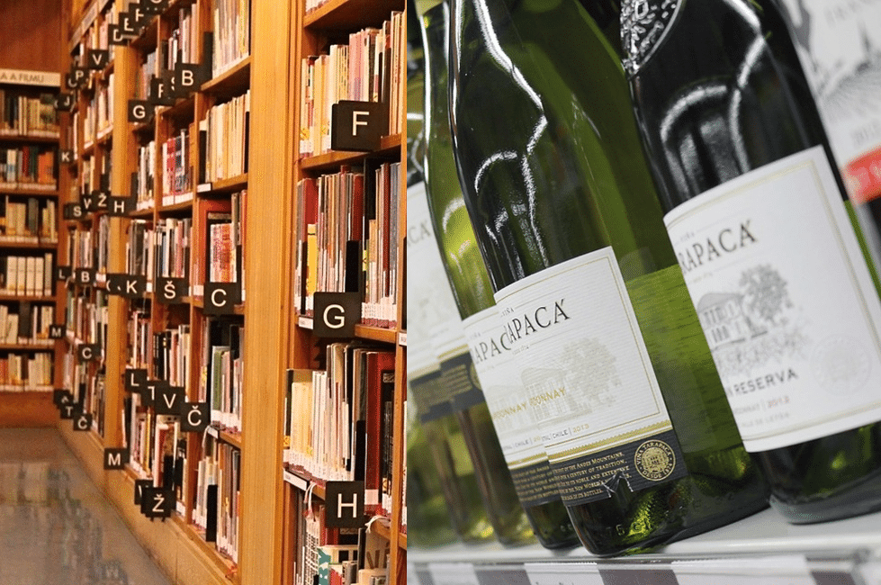 Libary wine